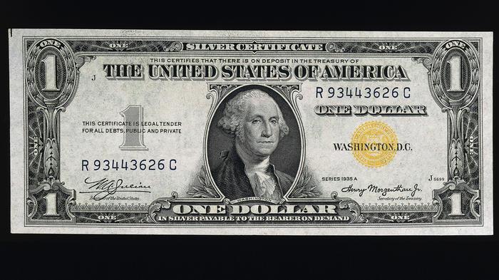 Dollar Silver Certificate