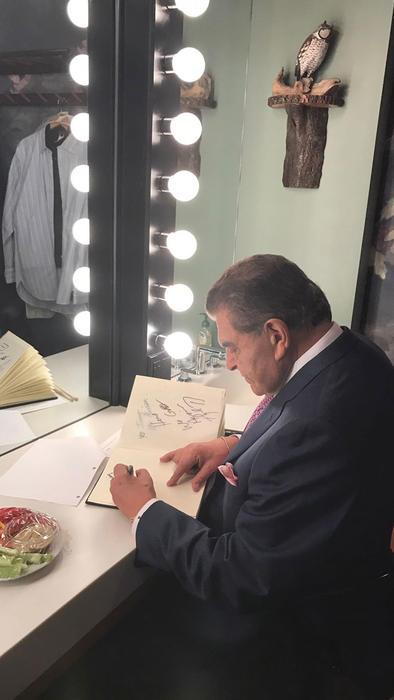 Don Francisco en The Tonight Show
