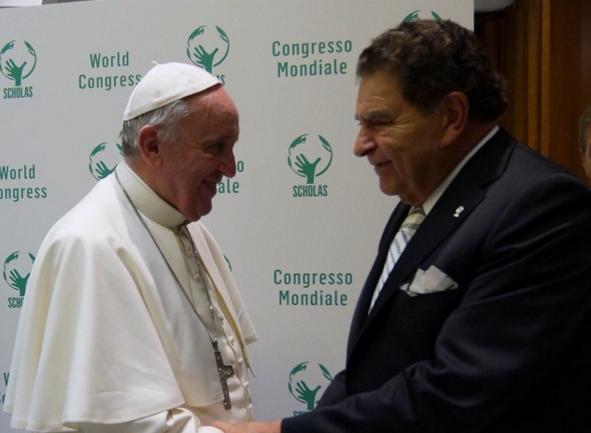 Don Francisco y el Papa