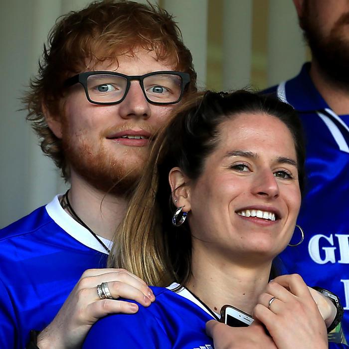 Ed Sheeran y su prometida