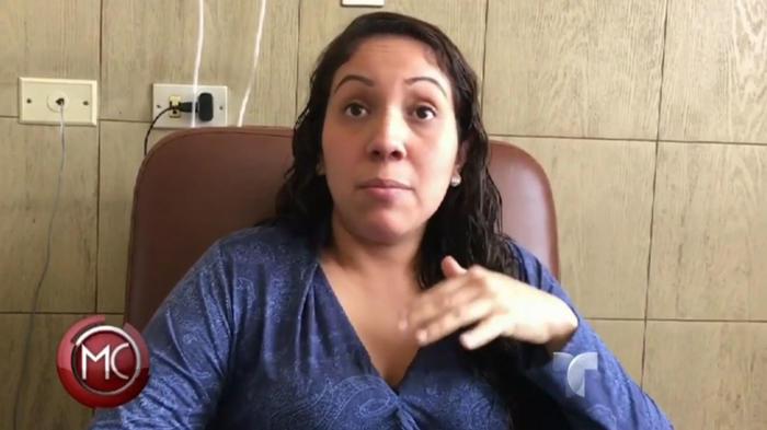 Embarazada encuentra un cristal en su postre de hospital