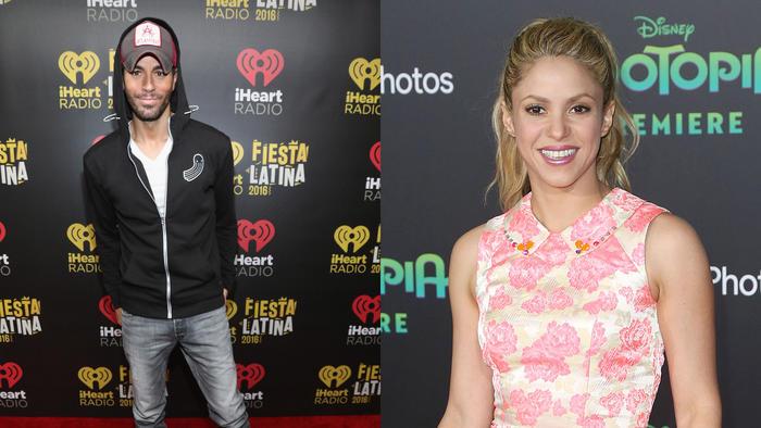 Enrique Iglesias & Shakira