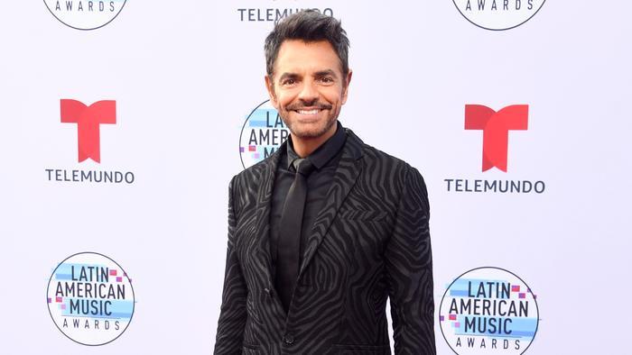 Eugenio Derbez en la alfombra roja de los Latin American Music Awards 2019