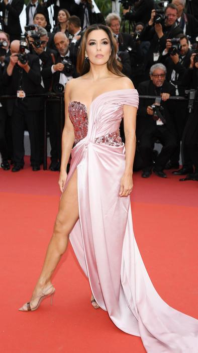 Eva Longoria en la ceremonia de inauguración de Cannes 2019