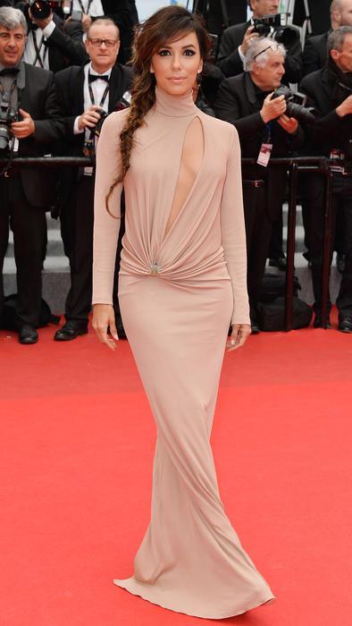 Eva Longoria en el festival Cannes 2014