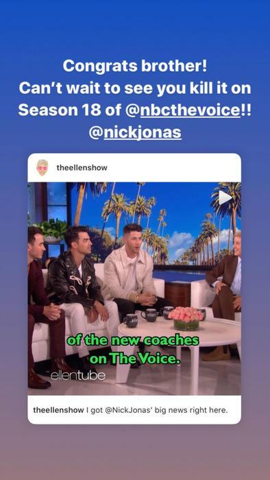 Los Jonas Brothers en The Ellen DeGeneres Show