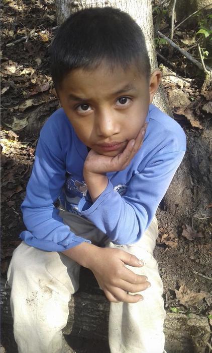 Felipe Gómez Alonzo, el niño guatemalteco que murió bajo custodia de la Patrulla Fronteriza en una imagen de archivo cedida por Catarina Gómez