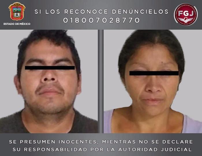 La pareja de feminicidas ya se encuentran en el penal de Chiconautla