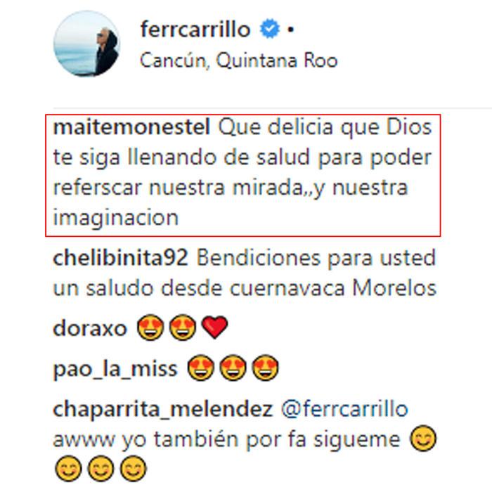 Fernando Carrillo. Delicia.