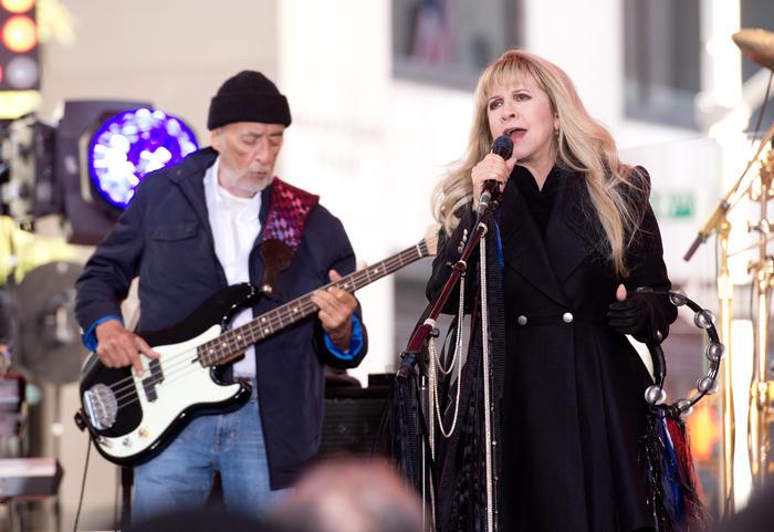 Fleetwood Mac en un concierto de NBC en 2014