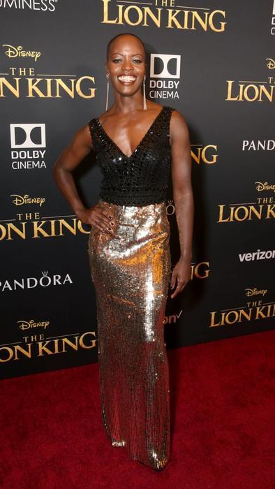 Florence Kasumba en The Lion King alfobra roja