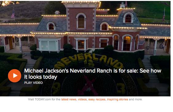 Foto de Neverland, la casa de Michael Jackson.