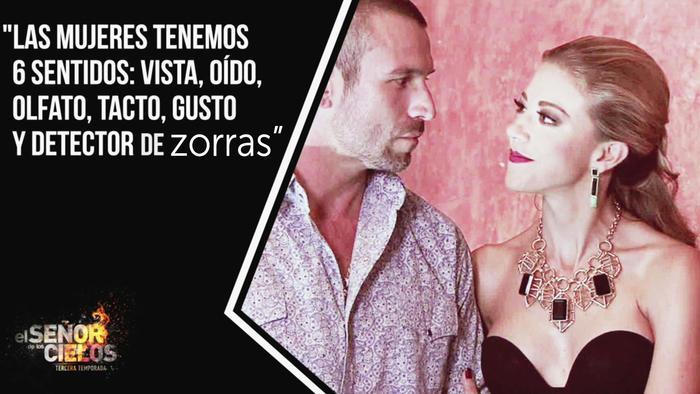 Fernanda Castillo, Rafael Amaya, juntos, El Señor de los Cielos