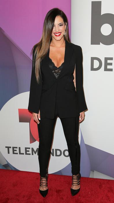 Gaby Espino conferencia de prensa Premios Billboard 2016