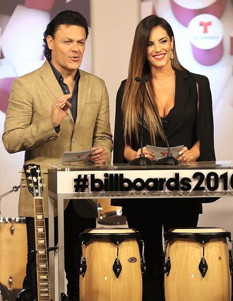 Gaby Espino y Pedro Fernandez Latin Billboards