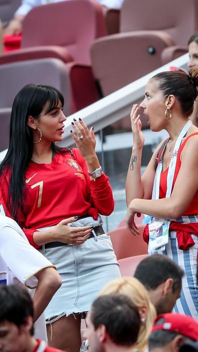 Georgina Rodríguez con una amiga