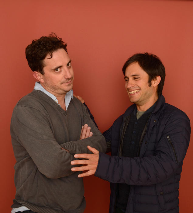 Pablo Larraín y Gabriel García Bernal