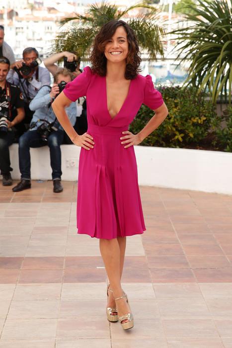 Alice Braga en Cannes, Francia en el 2014