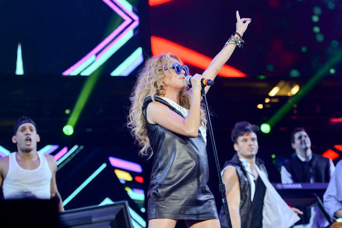 Paulina Rubio en Grand Slam Party Latino