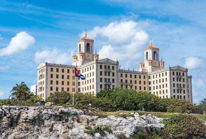 National Hotel of Cuba or Hotel Nacional de Cuba which is a