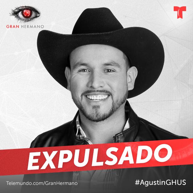 Agustin es el décimo expulsado de la casa de Gran Hermano