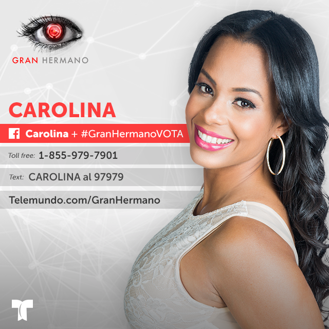 Carolina, grafica de nominada en Gran Hermano