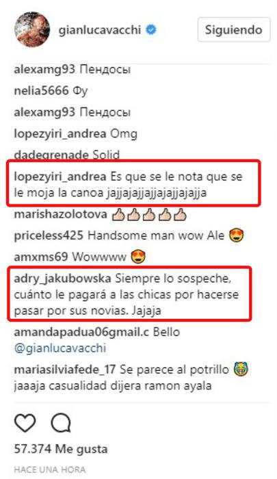 Comentarios sobre Gianluca