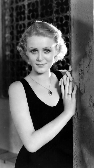 Gloria Stuart alrededor del año 1934