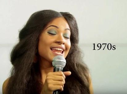 100 años de belleza República Dominicana 1970