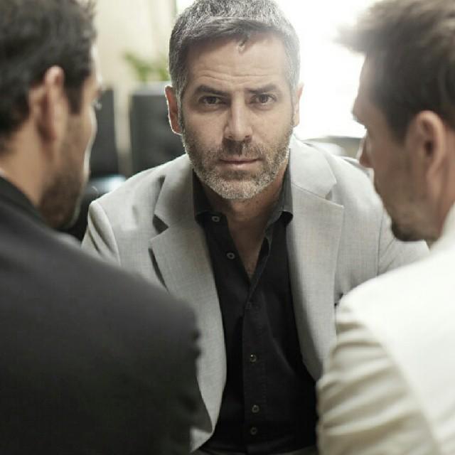 """Guillermo Zapata, el """"clon""""  del actor George Clooney"""