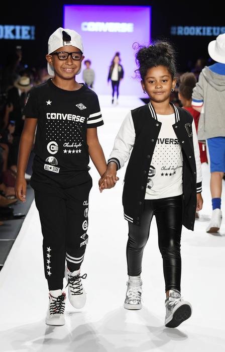 Haileigh Vasquez en la New York Fashion Week 2016