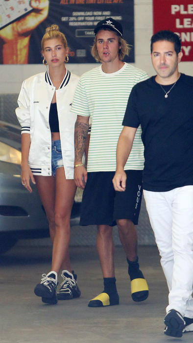 Justin Bieber con Hailey Baldwin