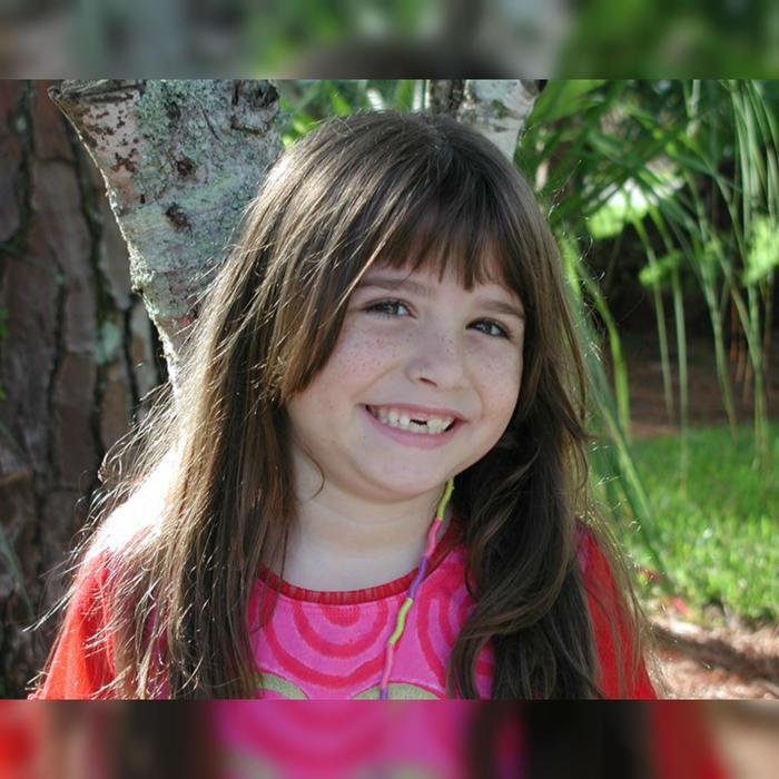 Haley Moss en su infancia