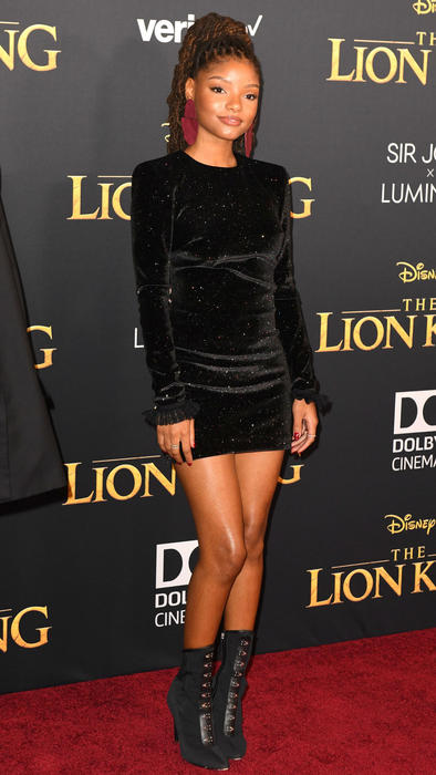 Halle Bailey The Lion King alfombra roja