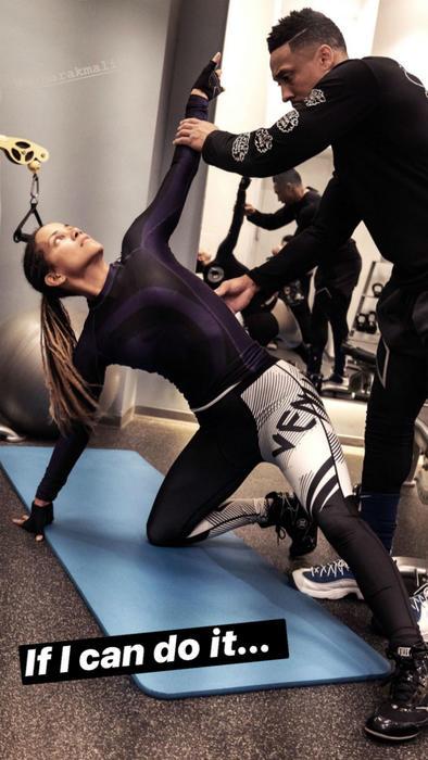 Halle Berry en el gym