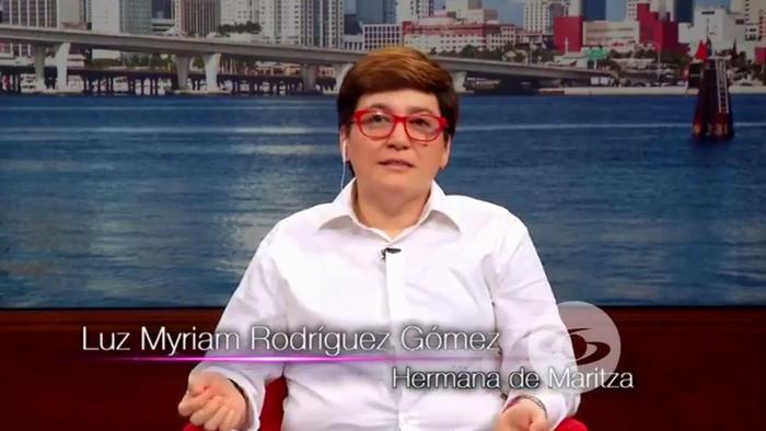 Hermana de Maritza Rodríguez