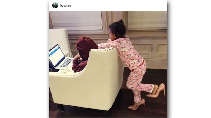 La hija de Beyoncé, Blue Ivy, comparte los sofisticados gustos de su mamá