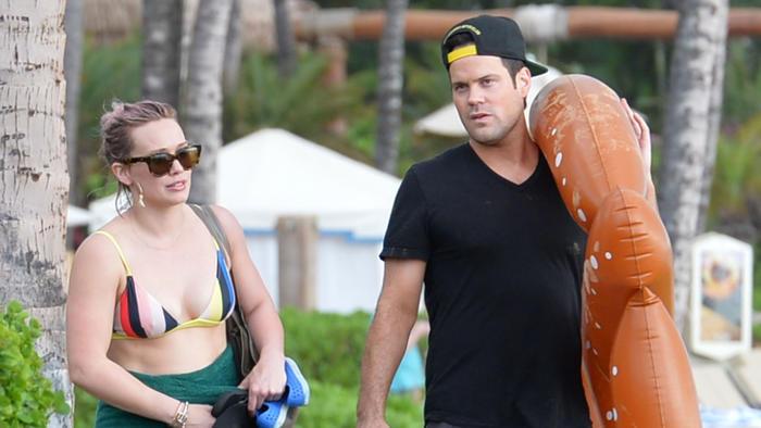 Hilary Duff y Mike Comrie en Mauí 2016