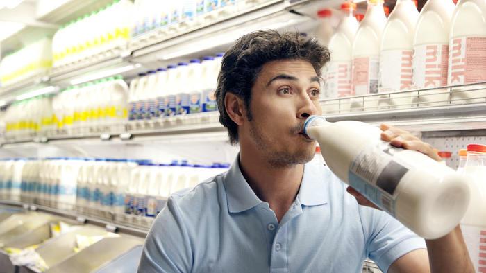 Admiradores de los lácteos