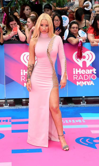 Iggy Azalea en la entrega de los premios iHeartRadio Much Music Video