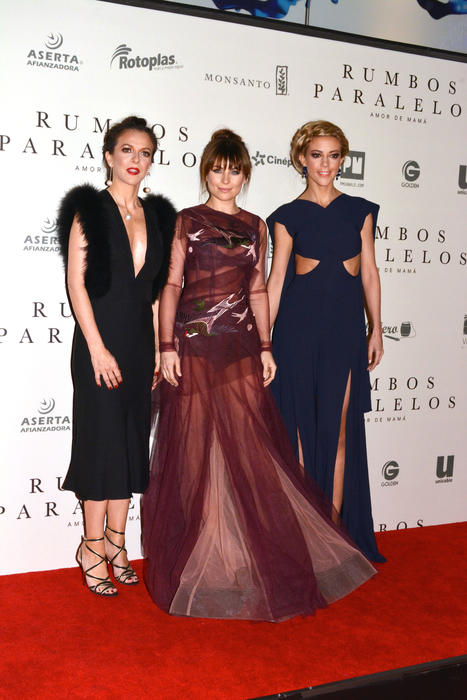 Iliana Fox, Ludwika Paleta y Fernanda Castillo