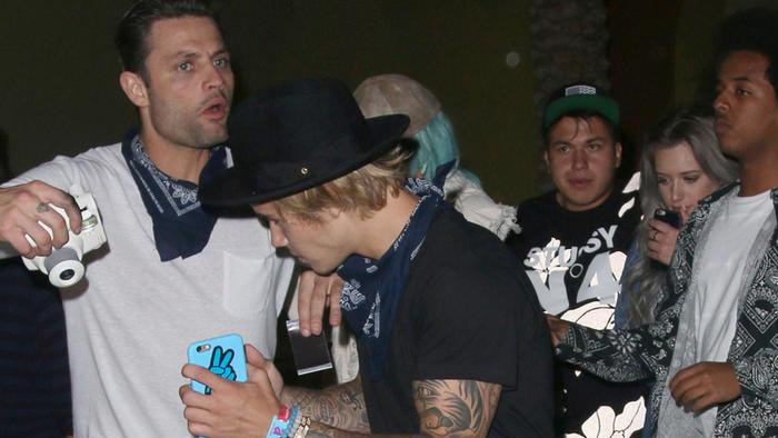 Justin Bieber en el festival de Coachella