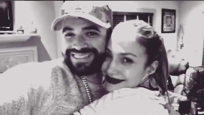 Nacho y Jennifer Lopez