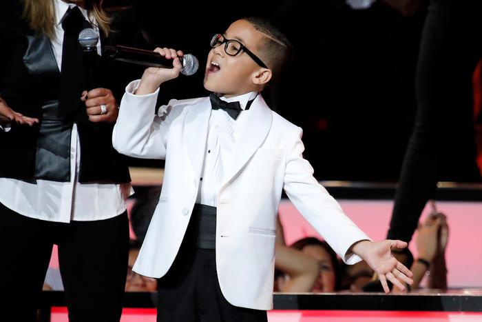 Jonael Santiago en Premios Tu Mundo 2015