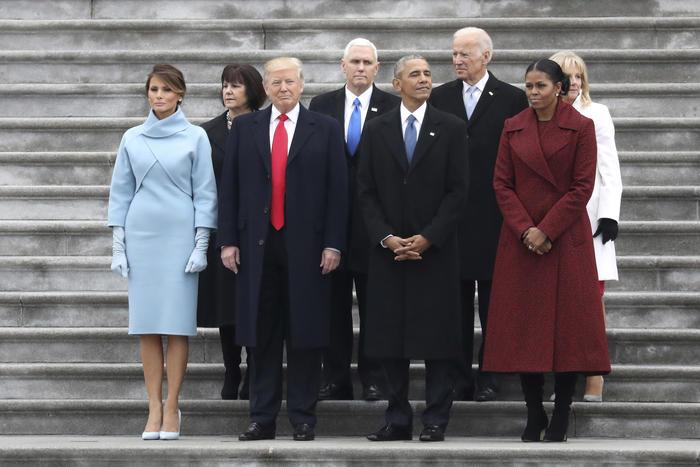 Ceremonia de toma de posesión de Donald Trump el 20 de enero de 2017.