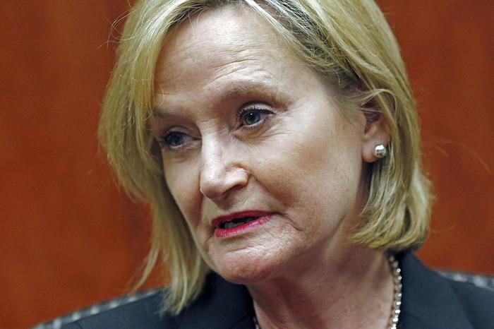 la senadora republicana de mississippi cindy hyde-smith.