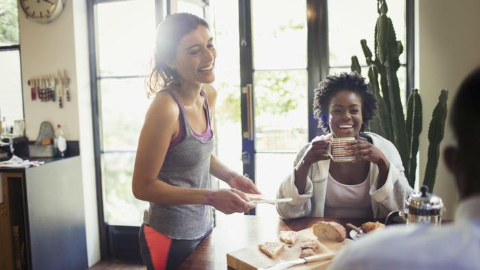 Mujeres y alimentación saludable