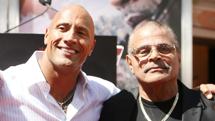 """Dwayne """"The Rock"""" Johnson lost his father earlier this year."""