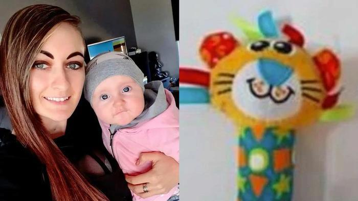 Jessica Stewart con su hija Malia