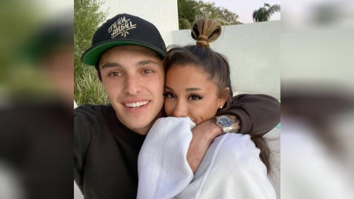 Ariana Grande y Dalton Gomez